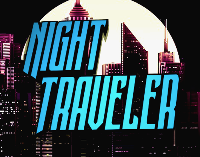Night Traveler Font poster