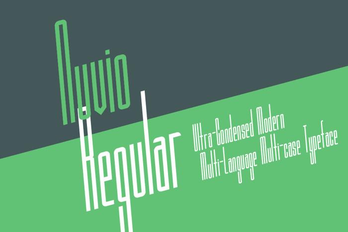 Nuvio Demo Font poster