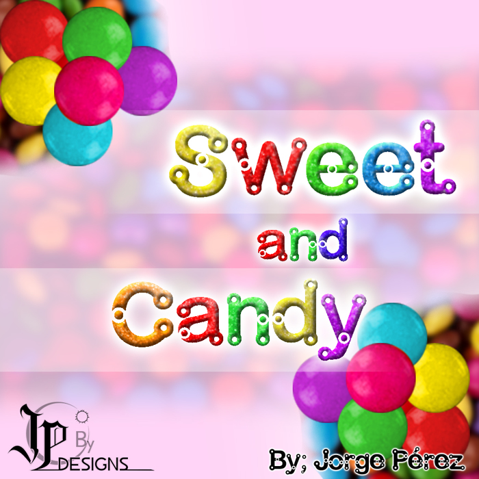 Sweet and Candy Font poster