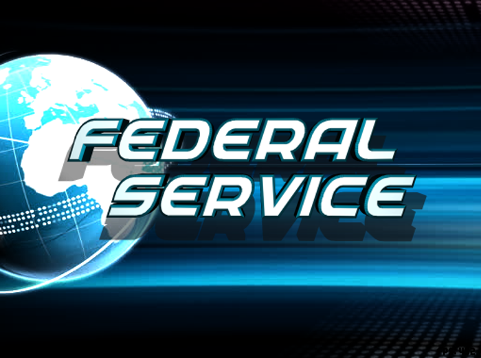Federal Service Font poster