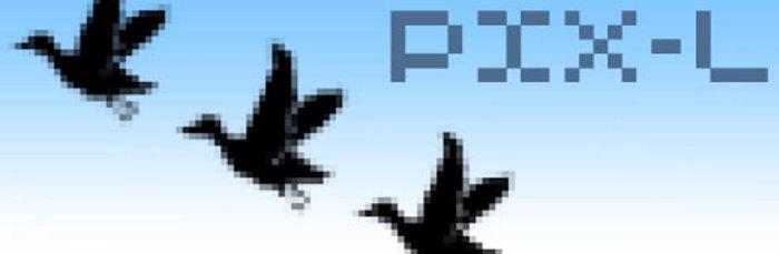 PixL Font poster