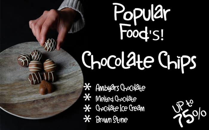 ChocoLate Chips Font poster