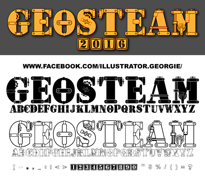 geosteam Font poster