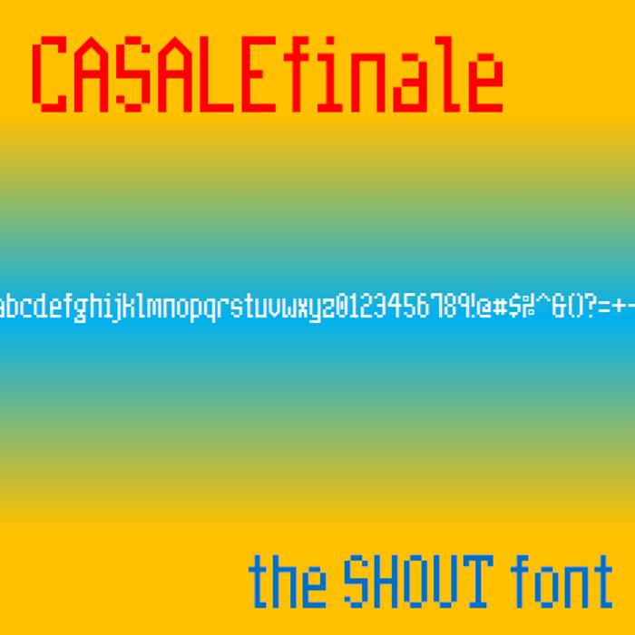 CasaleFinale NBP Font