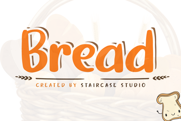 Bread Font poster