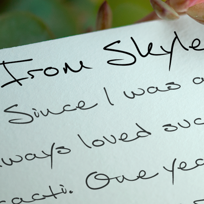 From Skyler Font poster