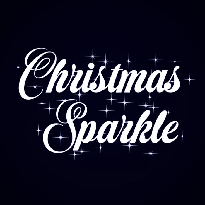 Christmas Sparkle Font poster
