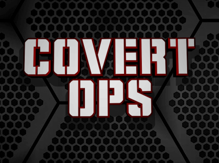 Covert Ops Font poster