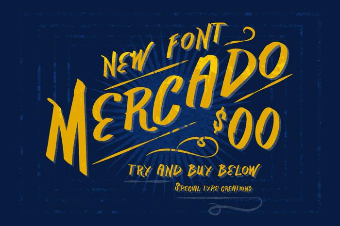 Vtks Mercado Font poster