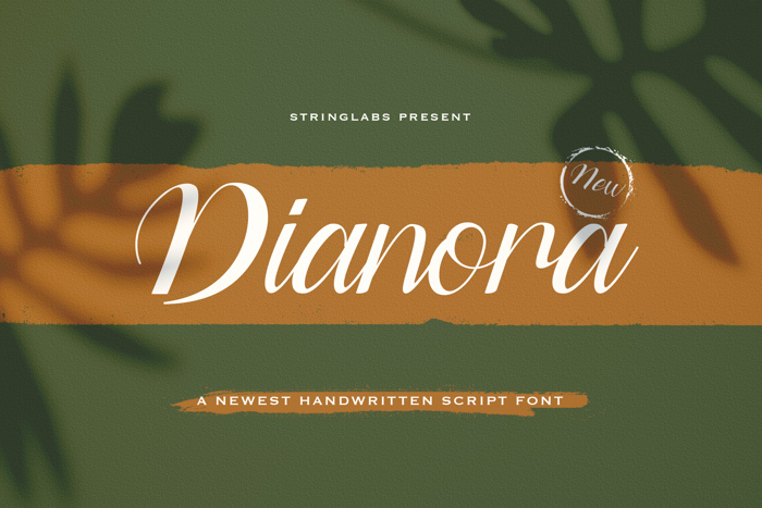 Dianora Font poster