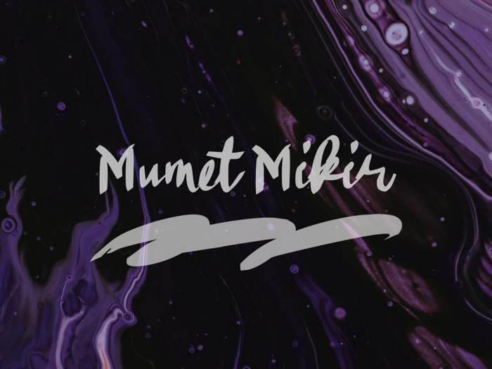 Mumet Mikir Font poster