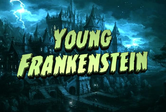 Young Frankenstein Font poster