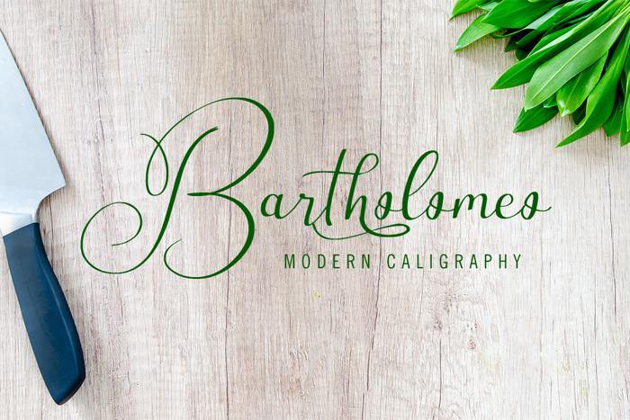 Bartholomeo Font poster