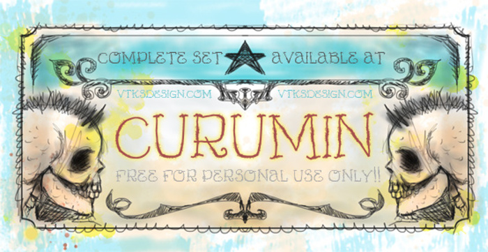 Vtks Curumin Font