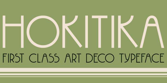 DK Hokitika Font poster