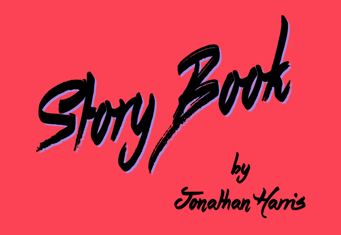 Story Book Font poster