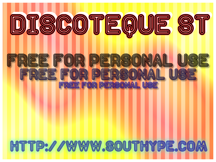 Discoteque St Font poster