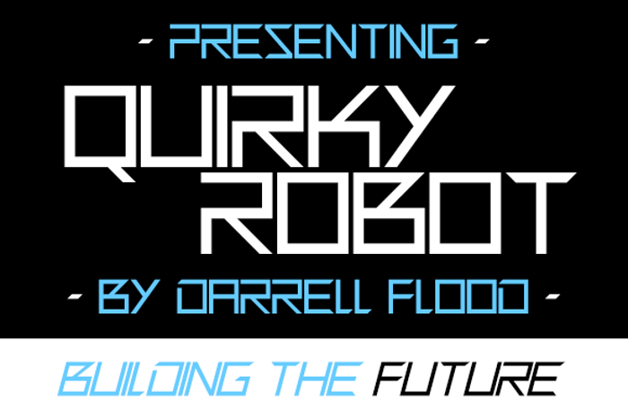 Quirky Robot poster