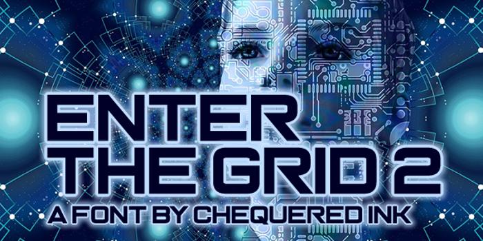 Enter the Grid 2 Font