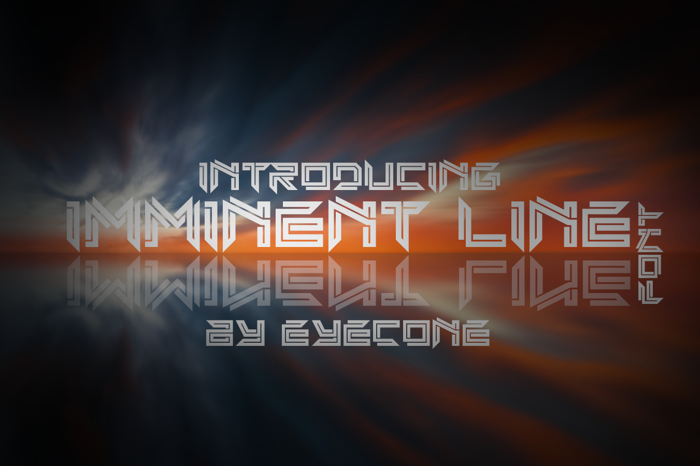 Imminent Line Font