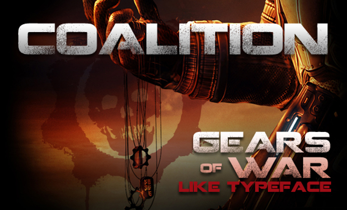 Coalition Font poster