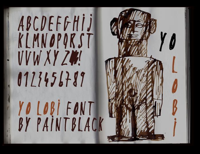 Yo Lobi Font