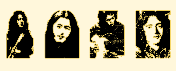 Thart_Rory_Gallagher Font poster