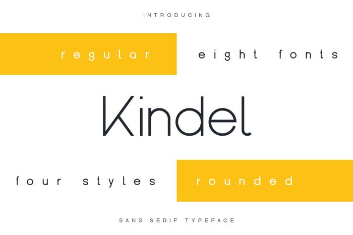 Kindel Font