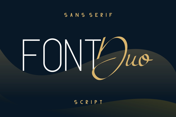 Atthia Font poster