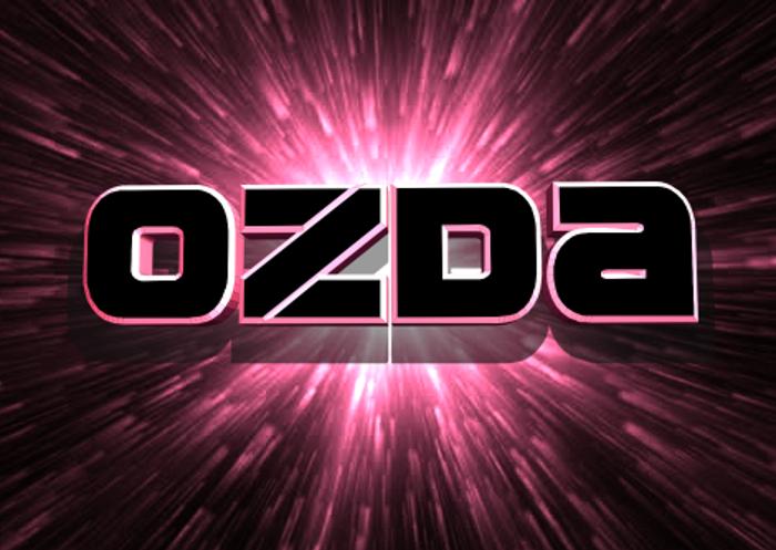 Ozda Font poster