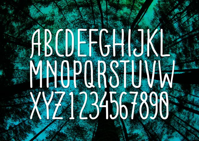 ADENTULISAN Font poster