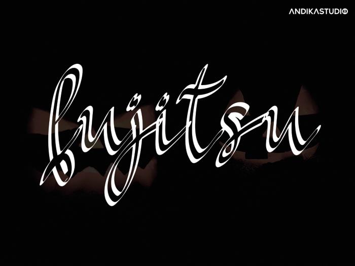 Fujitsu Font poster