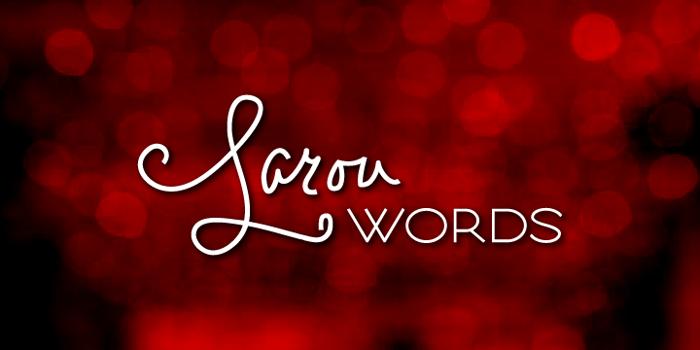 Larou Words Font poster