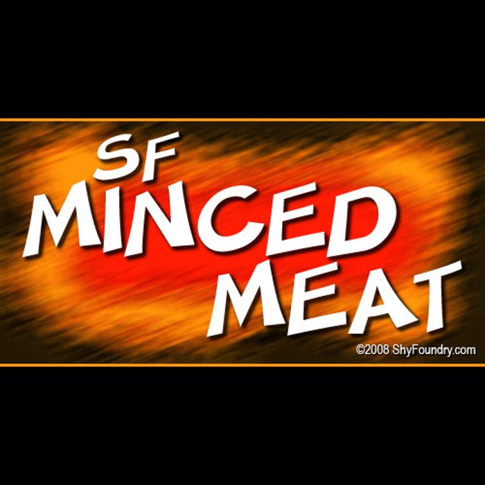 SF Minced Meat Font poster