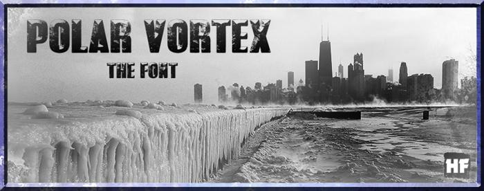 POLAR VORTEX Font