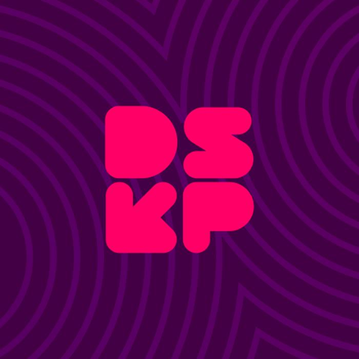 DISKOPIA Font poster