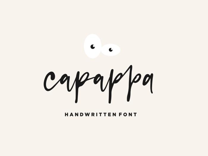 capappa Font poster