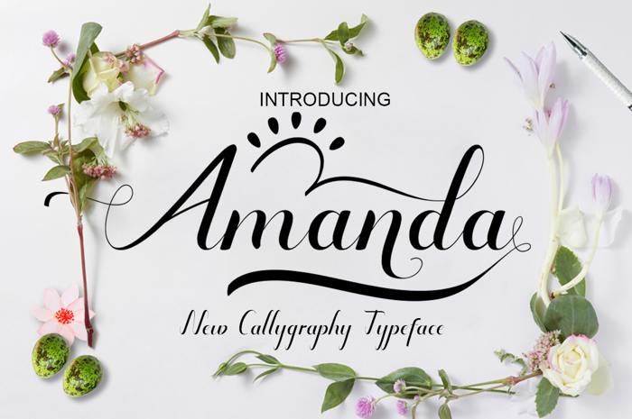 Amanda Font poster