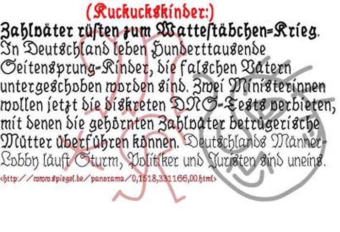BrokenHand Font