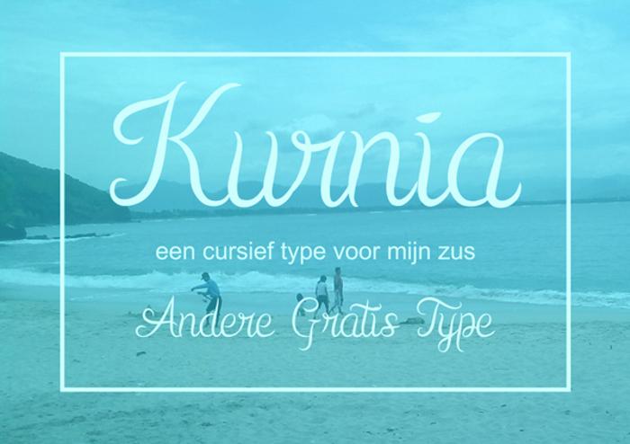 Kurnia Font poster