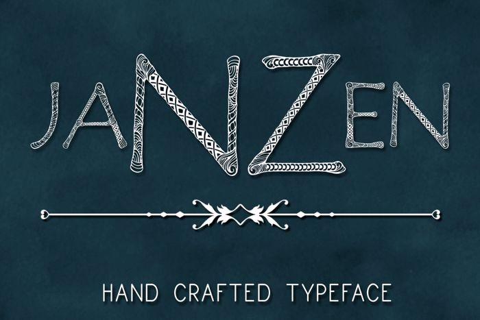 Janzen Font poster