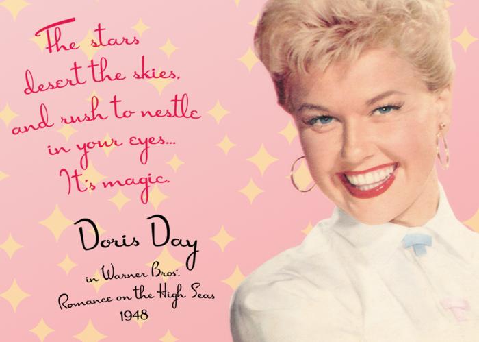 DorisDay Font poster