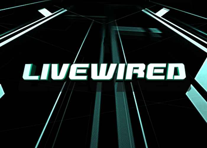 Livewired Font poster