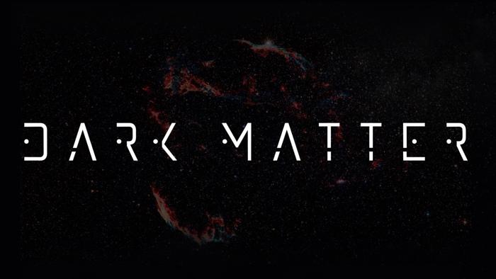 darkmatter Font poster