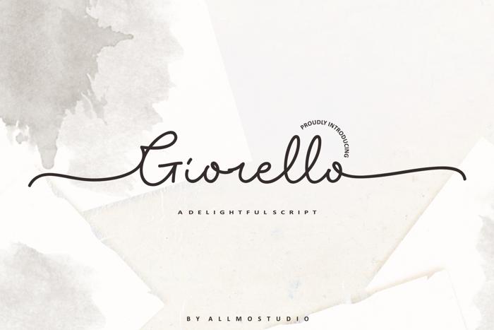 Giorello Demo poster