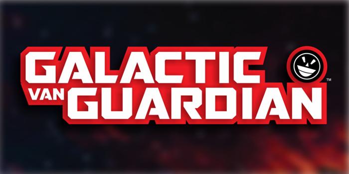 GALACTIC VANGUARDIAN Font poster