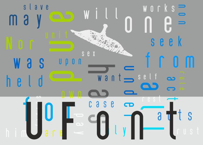 UFont Font poster