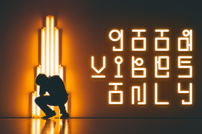 Korean Looks Font poster