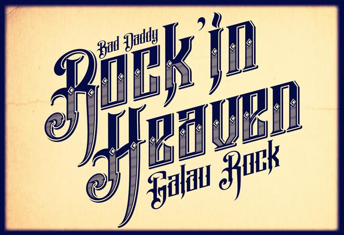 Pure Black Demo Font poster