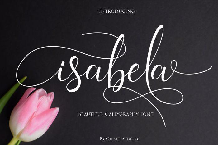 isabela Font poster